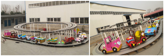 Children's Formula -fairground track ride for sale