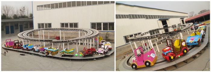 Children's Formula -fairground track ride for sale