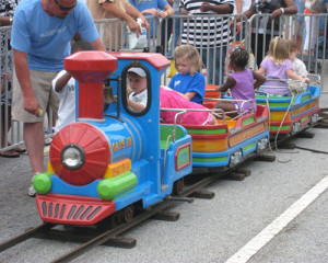 train ride for kids
