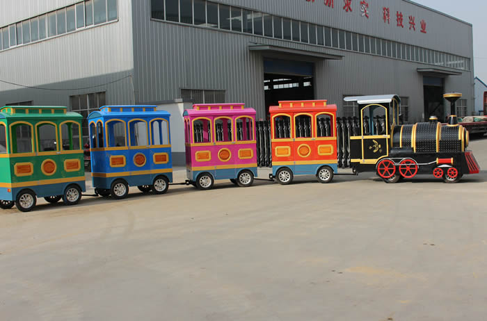 Beston trackless train for sale item 016