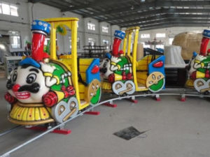 Big beard Kiddie electric games track train