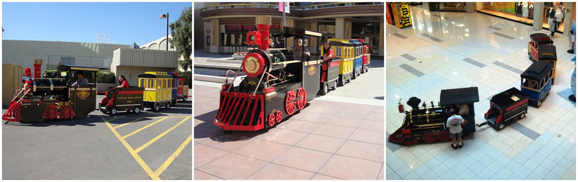 Buy Mall Trackless Trains - Kid Steam Trams