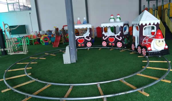 Christmas Themed track train for Children
