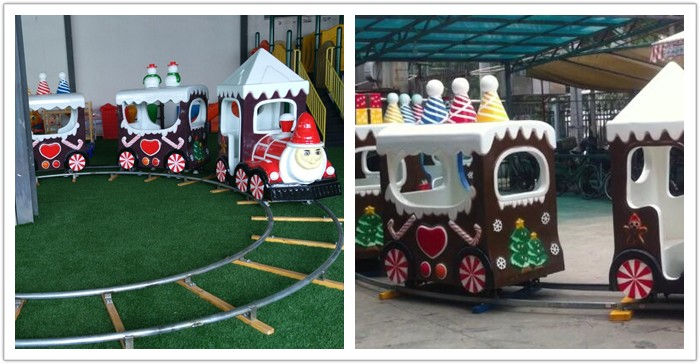 Christmas themed track train for sale