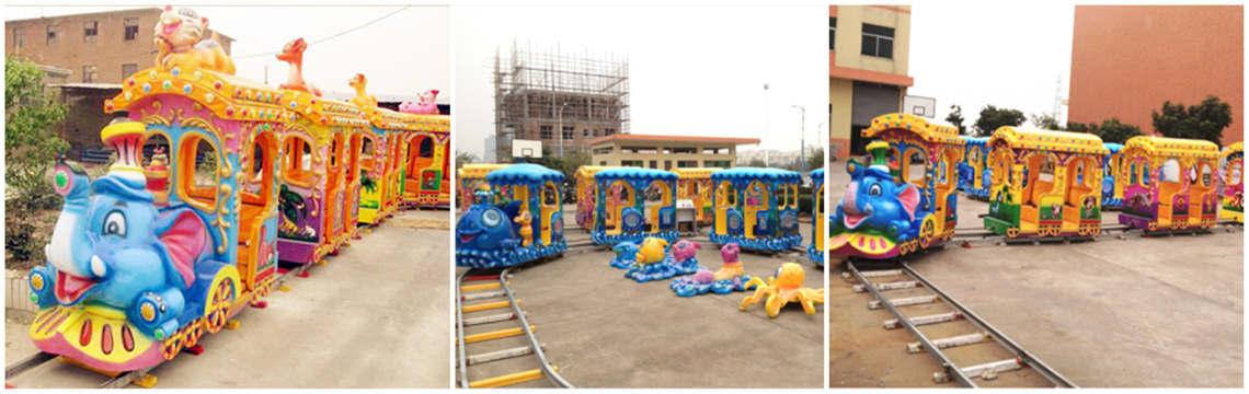Circus Train - a circus themed train ride