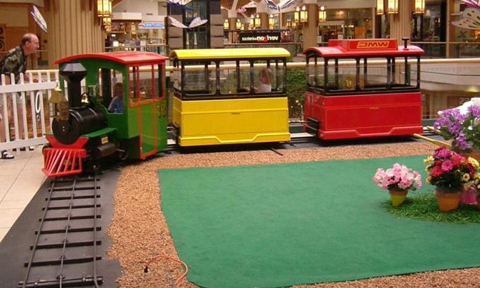 Circus Train carnival ride