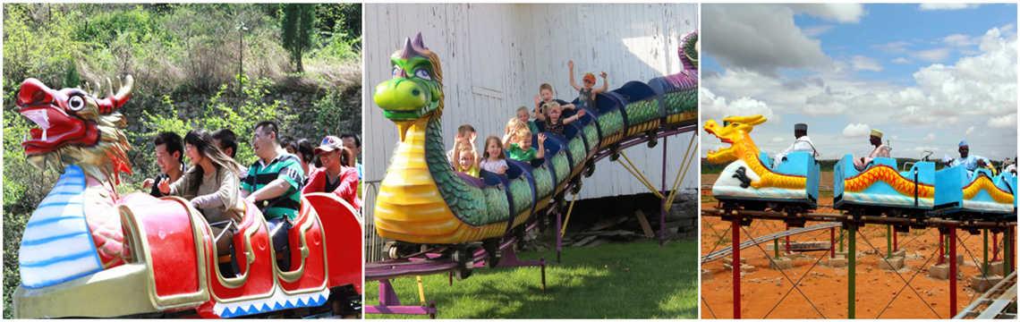 Dragon Wagon - Carnival Ride
