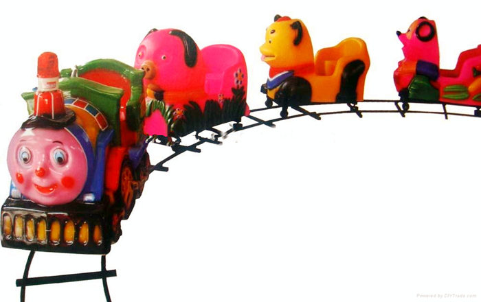 Kiddie Ride On Track Train