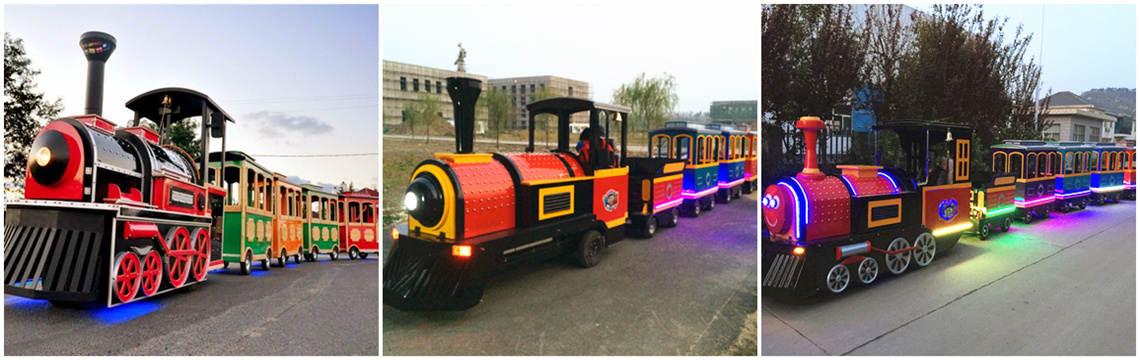 Royal Train Rides - Trackless Train Sales