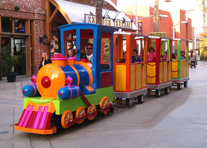 Beston Candy-colored trackless train ID-BTR055