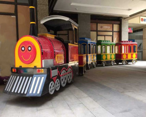 Trackless Mall Train