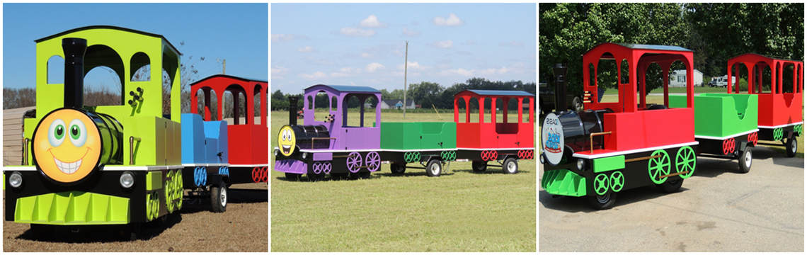 amusement train for sale