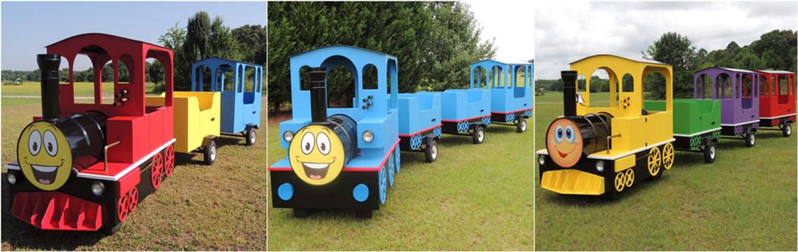 amusement train ride for sale