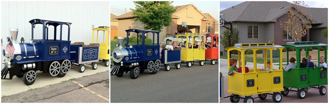 amusement trains for sale
