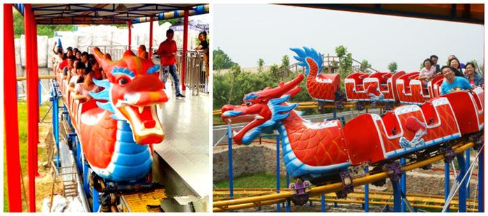 Dragon Wagon Amusement Ride