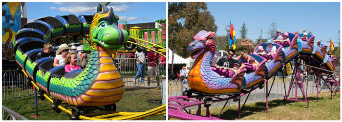 Beston dragon wagon roller coaster