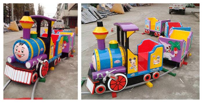 kiddie train ride