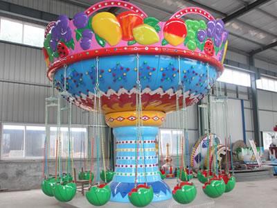 Fruit mini swing ride for kids
