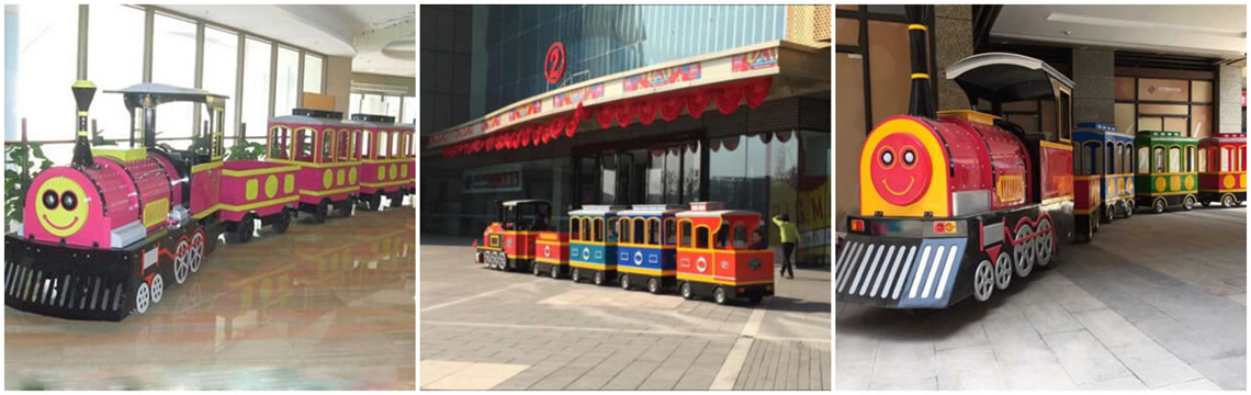 Trackless Mall Train Ride Business-Electrical Mall Train For Sale