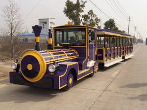 41 Person Large Trackless Train to Malaysia