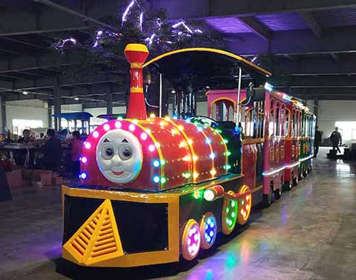 Thomas Trackless Train Rides With Led Lights