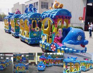 Kiddie Ocean Theme Trackless Train