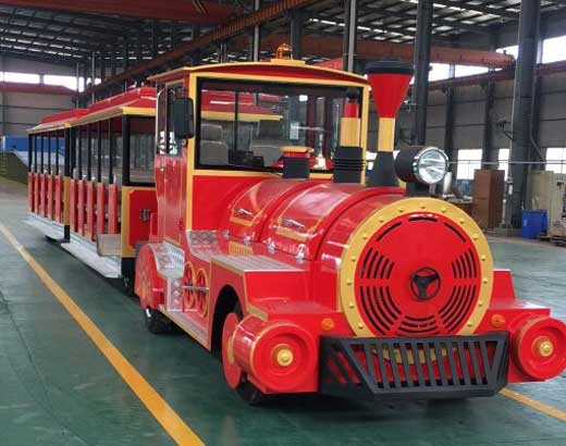 Red Carnival Train for Sale