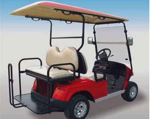 Red Golf Carts for Sale