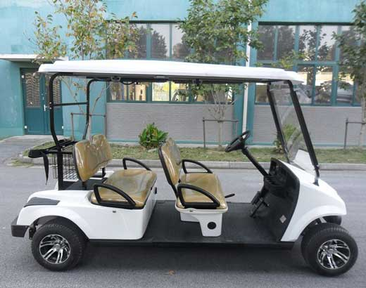 White Golf Carts for Sale