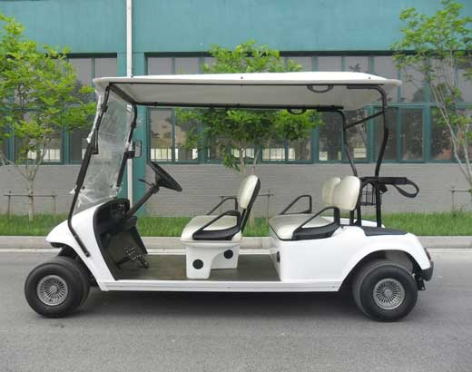 White Face to Back Golf Carts for Sale