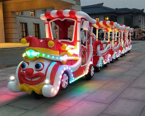Kiddie Clown Trackless Train for Party