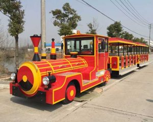 Red Tourist Train for Sale