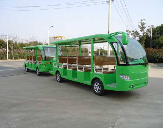 Green Electric Train Rides for Sale
