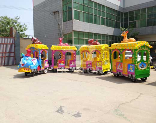 Elephant Theme Park Train