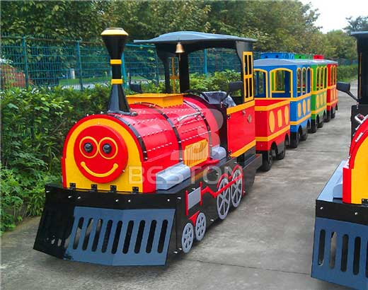 Smile Theme Park Trackless Trains