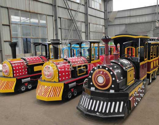 New Theme Park Trackless Trains