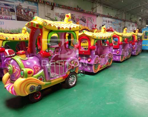 Kiddie Trackless Train