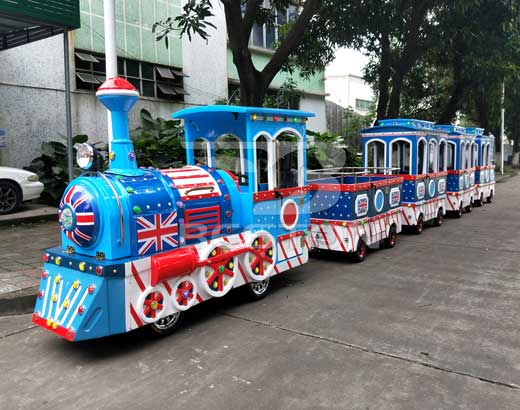 England Style Trackless Train for Sale