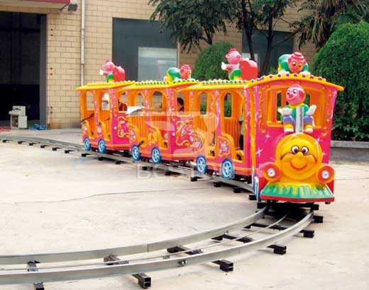 Vintage Kiddie Theme Park Trains