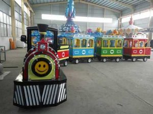 Beston Trackless Trains for India