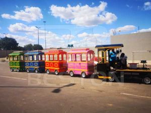 Beston Trackless Train In South Africa