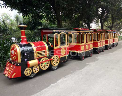 New Vintage Amusement Park Trains for Sale