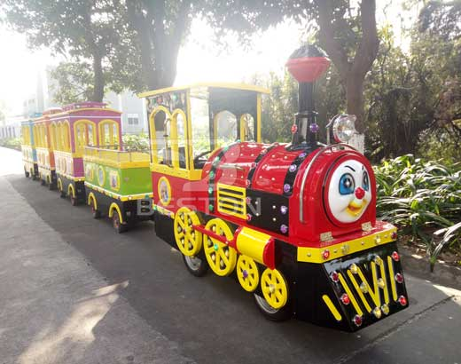 Thomas Vintage Amusement Park Train Rides