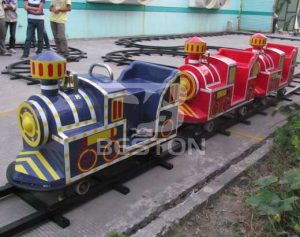 Backyard Track Train Rides
