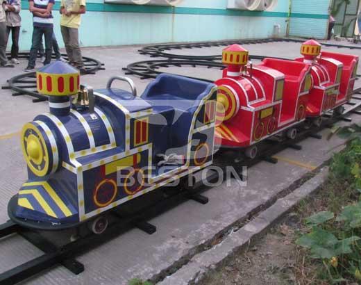 Backyard Track Train Rides